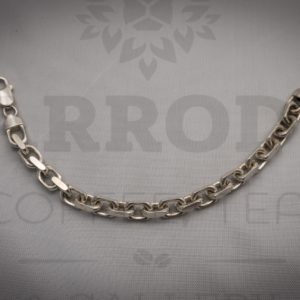 Sterling silver cable frequency bracelet $575